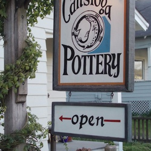 A visit with Sally and Jeff Manfredi of Calistoga Pottery at Calistoga Pottery