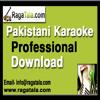 Aaj ye kis ko nazar ke samne - Pakistani Karaoke Track - Fazal Hussain