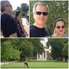 """Trying to be """"a cool dad"""" on college tours."""