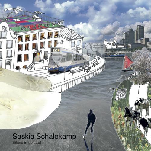 Eiland in de stad - Saskia Schalekamp
