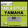 Chupke chupke raat din - Yamaha Tabla Style - Arabic Kit - PSR S700, S900, 1500, 3000, Tyros