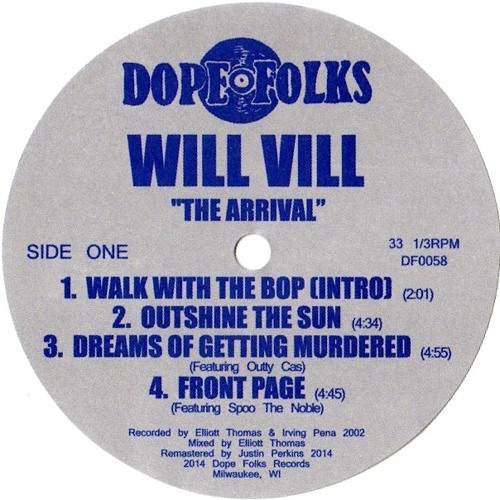 Will Vill - Confused - Order NOW at dopefolksrecords.com