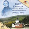 Lawrence Foster & Czech Philharmonic Orchestra play Schumann's Symphonies Nos. 3