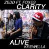 Alive - Krewella // Clarity - Zedd (Mash Up Cover) by Borri, Shelma & Keshia