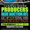 Producers Beat Auction Event Oct.9th 2014 @Smith Olde Bar In Atlanta- Do you make beats?