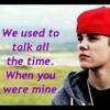 Tell me > Justin bieber