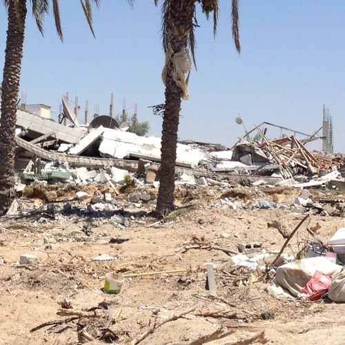 What happens to a destroyed Gaza village after Israeli tanks leave? (BBC Radio 4)