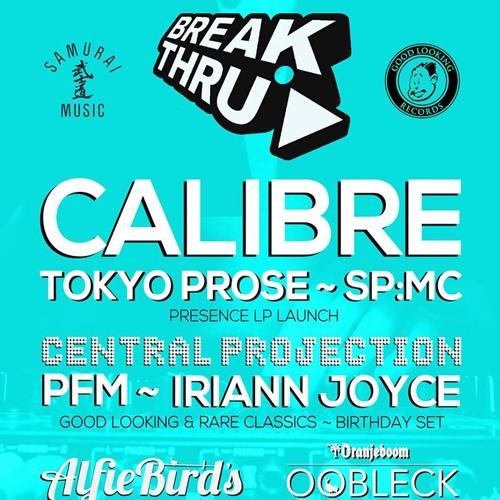 CALIBRE & DRS P1 BREAKTHRU 2013 ET