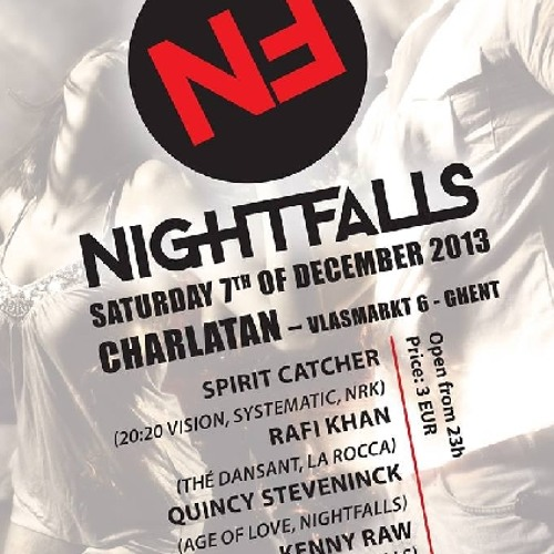 Rafi Khan @ Nightfalls Label Night, Café Charlatan, 07/12/2013