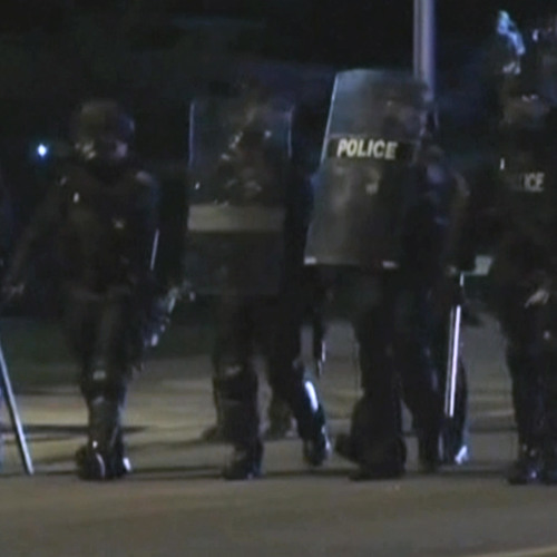 Armed w/ Military-Grade Weapons, Missouri Police Crack Down on Protests Over Michael Brown Shooting