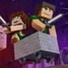 "♪ ""Through The Night"" - A Minecraft Original Music Video / Song ♪"