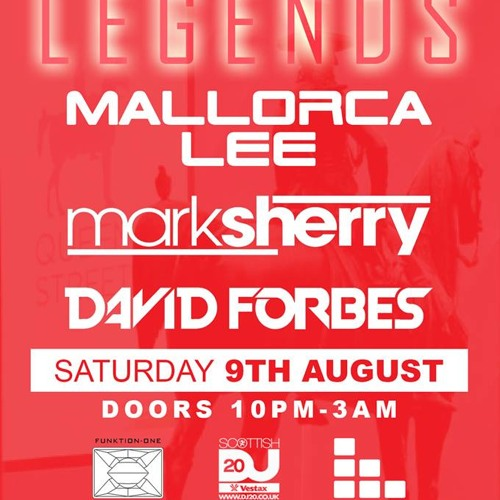 Mallorca Lee XL podcast ep.44's TRANCE CLASSIC REMIXED Live @ Legends Glasgow.