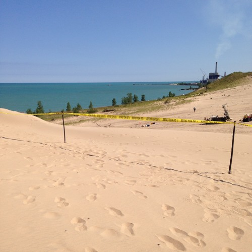 More holes open up at Mount Baldy dune