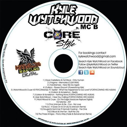 Kyle WytchWood FT MC B - CoreStyle (UK Hardcore) - (Mix) - ( Free DL ) - May 2014 - (KWNMCBMS0001)