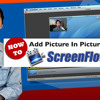 How To Add Picture In Picture To Screenflow on Mac