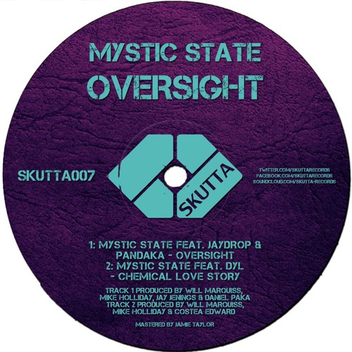 Mystic State, Jaydrop & Pandaka - Oversight (Skutta Records 007)