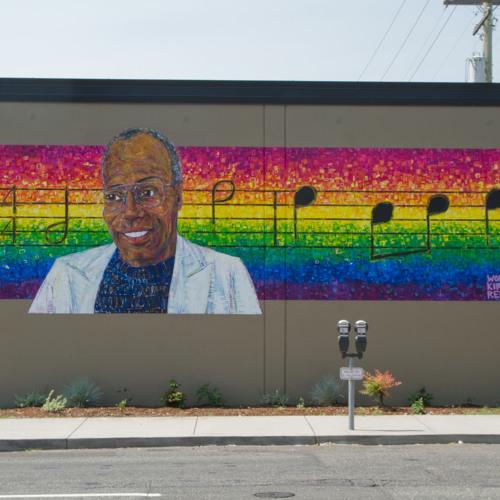 "Aug 16 2014 Segment 1: Stumptown Improv, Remembering Robin Williams, ""Working"" Kirk Reeves Mural"