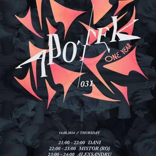 Podcast for APOTEK #031 Radio Show
