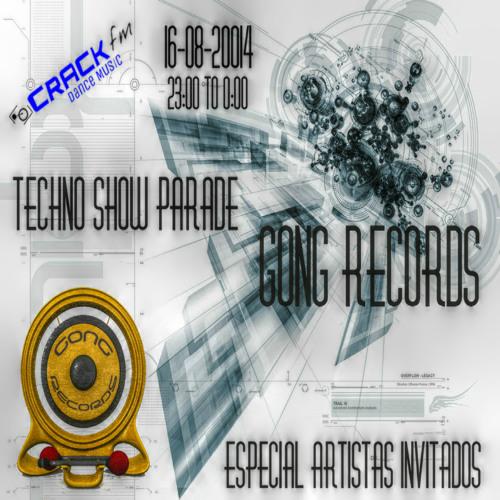 Techno Show Parade 016 Monografico Gong Records ( Artistas Invitados)