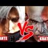 Batalha Games - Kratos V.S Dante