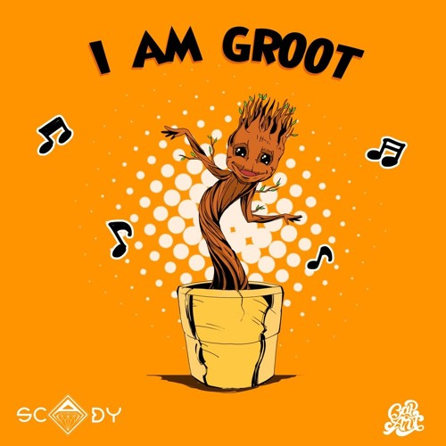Scady - I Am Groot (Blue Swede - Hooked On A Feeling remix)
