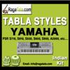 Teen Taal - Yamaha Tabla Styles - Indian Kit - PSR S710 S910 S550 S650 S950 A2000 ect