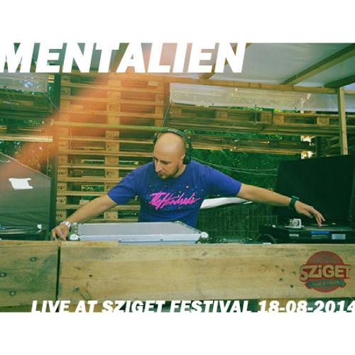 Mentalien - Live at Sziget Festival, Colosseum stage - 18-08-2014