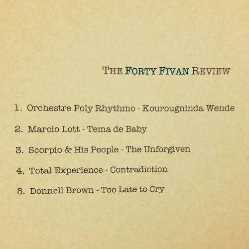 09: The Forty Fivan Review