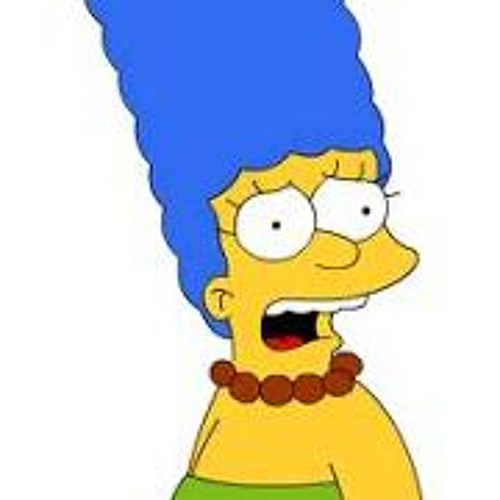 Marge Simpson speaks to Terry Gross
