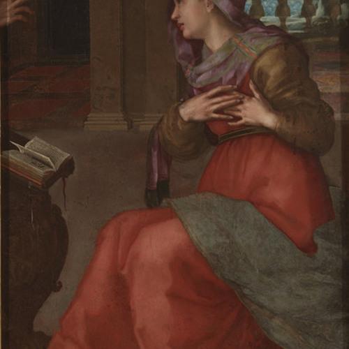 Art historian Evelyn Lincoln on Annunciate Virgin