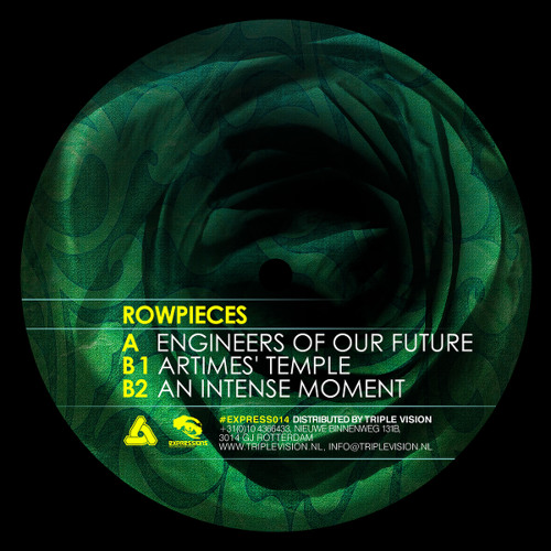 "Rowpieces - Engineers Of Our Future (12"" Expressions Recordings Sep 22nd)"