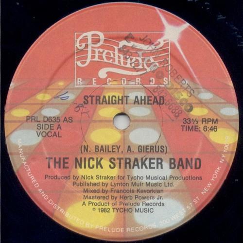 The Nick Straker Band You Know I Like It