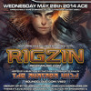 Exclusive Interview With Rigzin For The Next Level Radio May 28th 2014