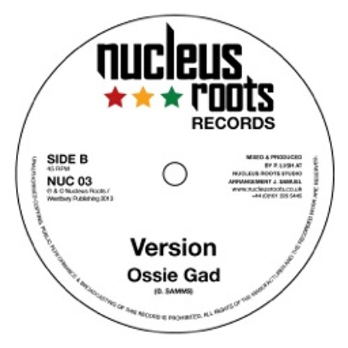 Ossie Gad - No Place - Dub Cut