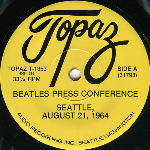 Beatles Press Conference | Seattle, August 21, 1964