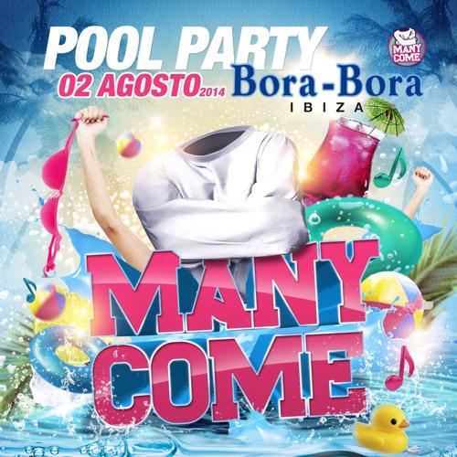 Victor Del Guio B2B Sergio Deep - Many Come (Bora Bora - Ibiza, 02 Agosto 2014)