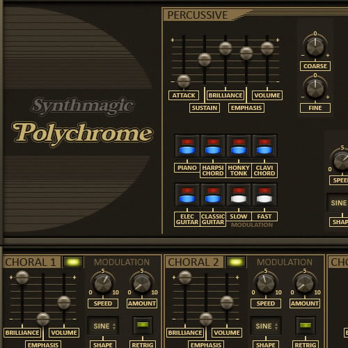 Synth Magic Polychrome