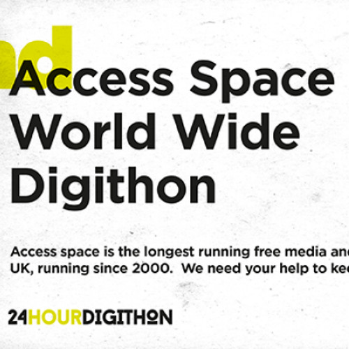 Access Space Digithon (live performance 2014-07-19)