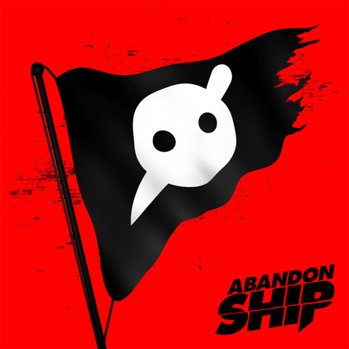 knife party abandon ship LP cover art