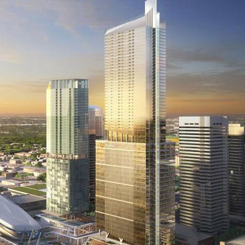 A taller downtown Edmonton