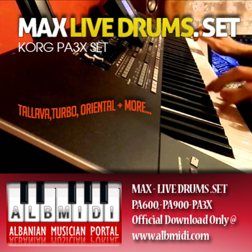 Korg Pa3X MAX LIVE SET by kleant | Free Listening on SoundCloud