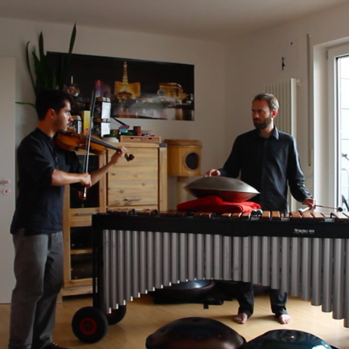 Les Cascades Impro Gustavo Strauss (Violin), Florian Betz (Marimba, Pantam-Sunpan)