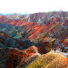 #Zhangye Danxia Landform (in  China)