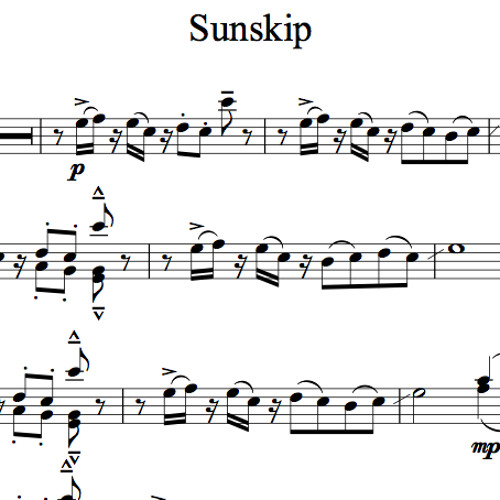 Sunskip Piano Accompaniment Sample By Lindsey Stirling