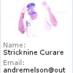 STRICKNINE CURARE - Shine the light on em