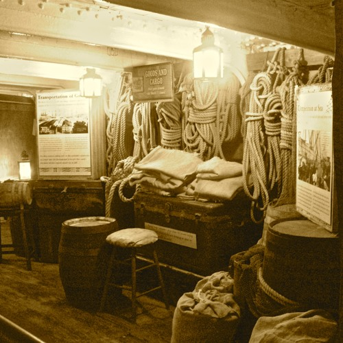 Paranormal Investigation aboard the  Star Of India crossing a Spirit Over to the Light