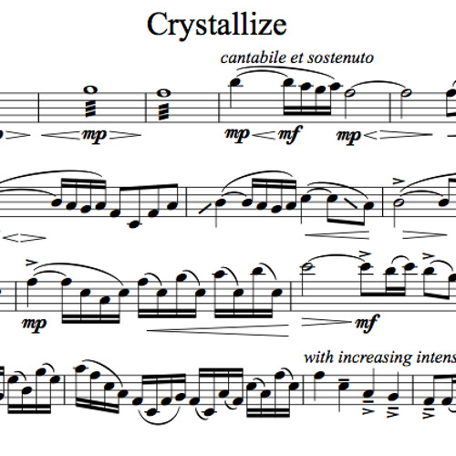 Crystallize Karaoke Sample Viola