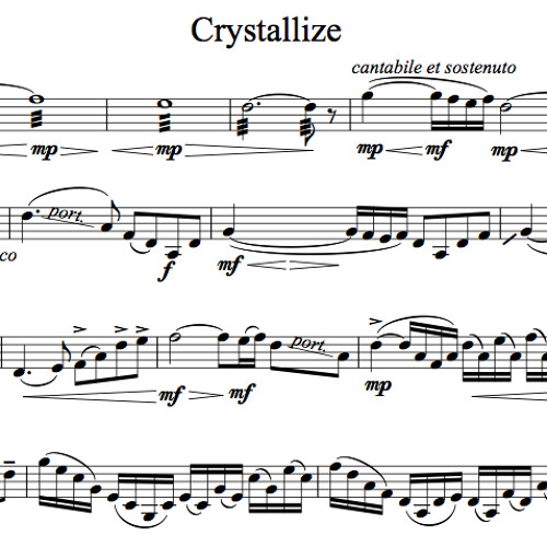 Crystallize Karaoke Sample
