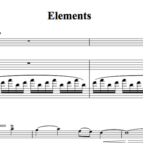 Elements Piano Accompaniment Sample By Lindsey Stirling