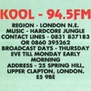 DJ Trace - Kool FM 94.5 - 6th November 1994